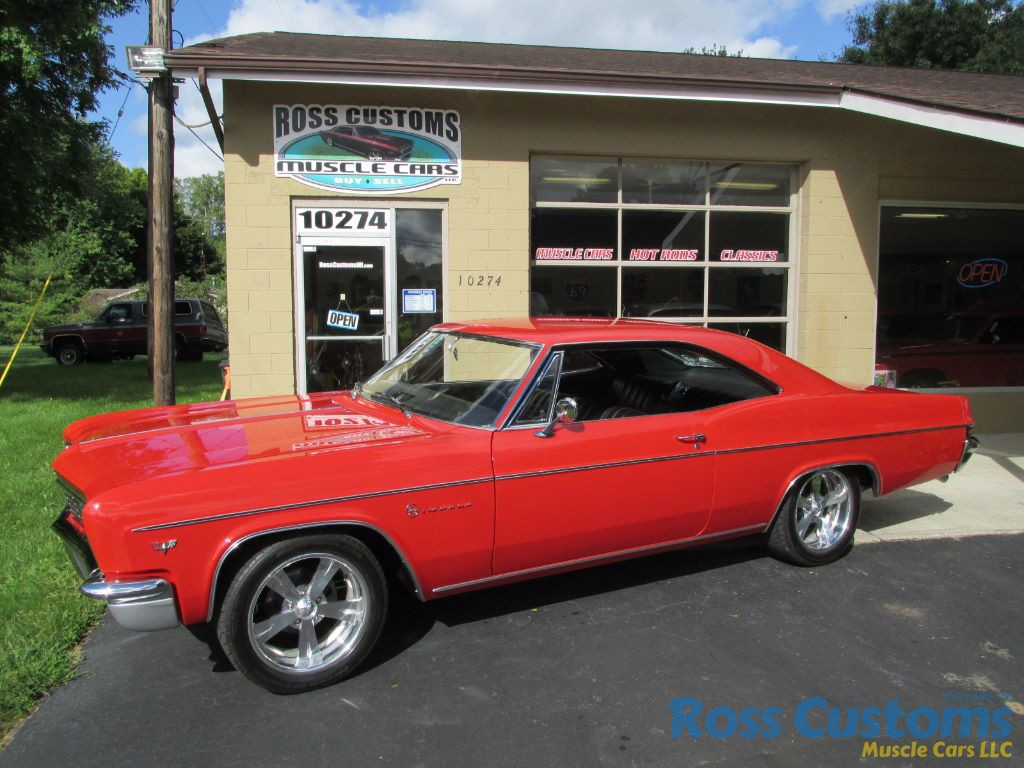 For Sale 1966 Chevrolet Impala 32900 Ross Customs Chevy Suspension Share This