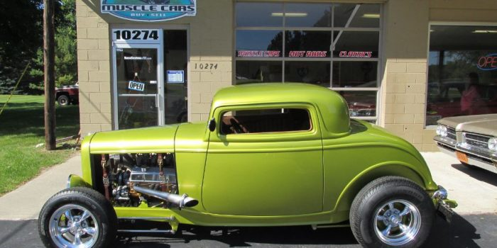 SOLD SOLD - 1932 Ford 3 Window Coupe - Street Rod