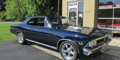 SOLD SOLD - 1966 Chevrolet Chevelle SS 396 - 4 speed - 138 VIN