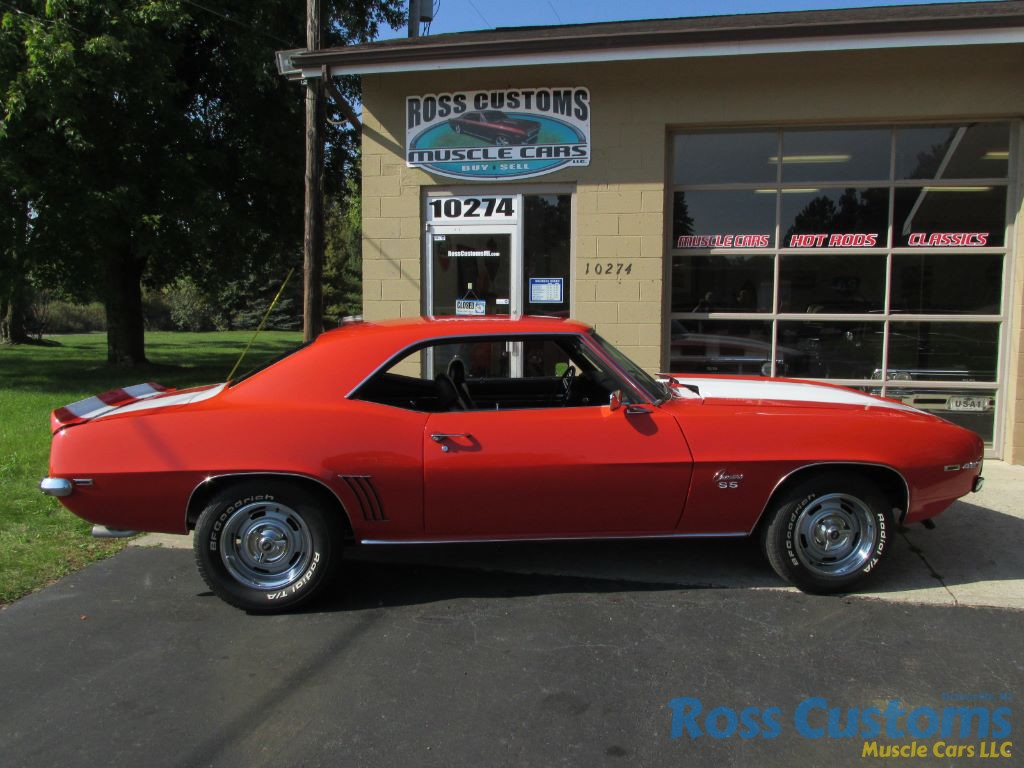 SOLD SOLD -1969 Chevrolet Camaro SS – big block – 4 speed
