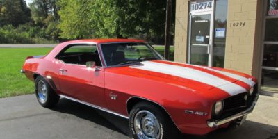 FOR SALE -1969 Chevrolet Camaro SS - big block - 4 speed - $32,900