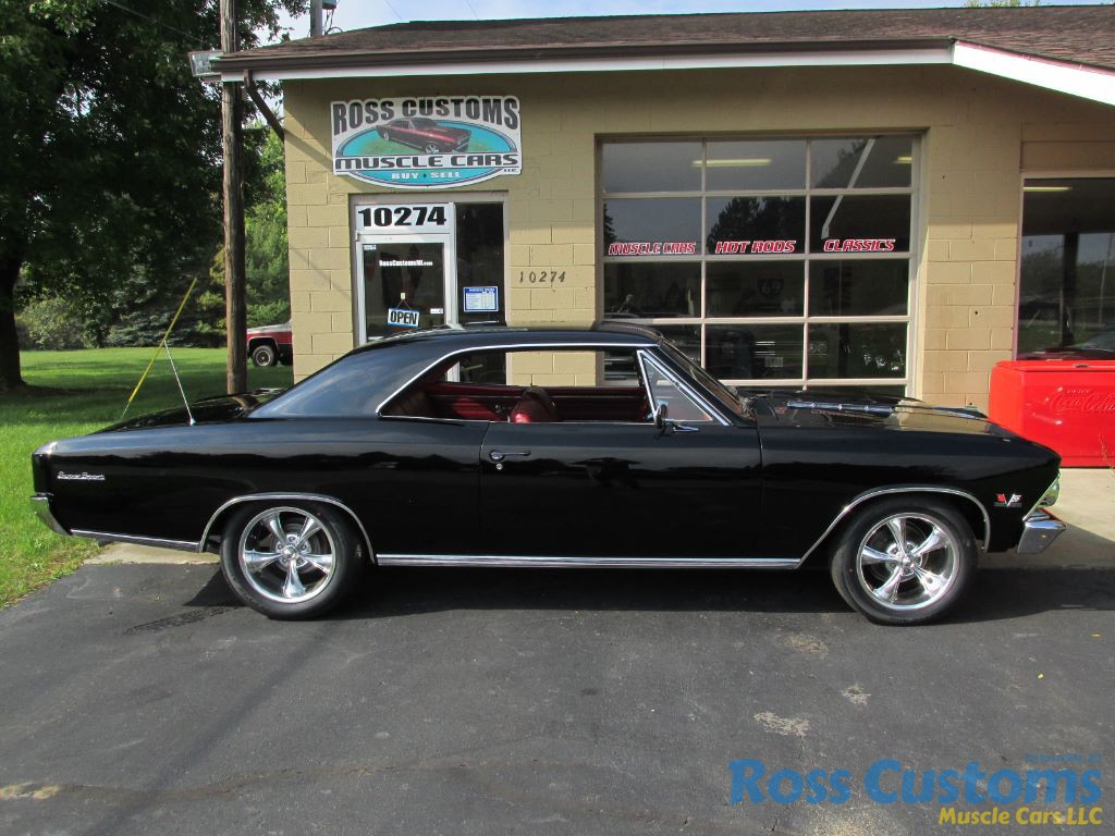 For Sale 1966 Chevrolet Chevelle Ss 396 4 Speed 138 Vin Bel Air Rear View 45900