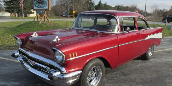 SOLD SOLD - 1957 Chevrolet Bel Air 2 door post
