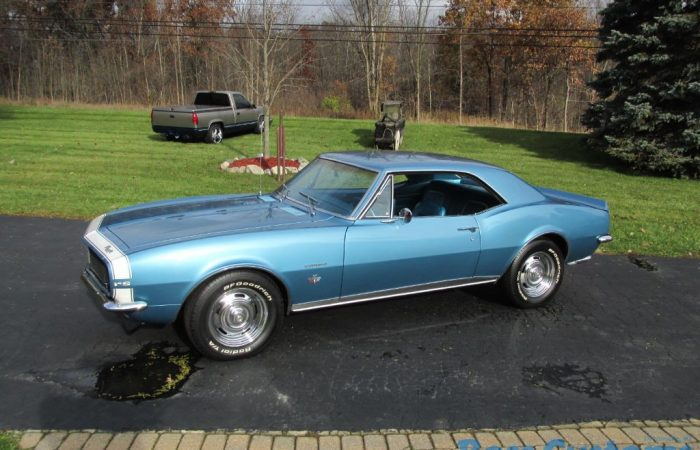 SOLD SOLD - 1967 Chevrolet Camaro RS - #'s matching