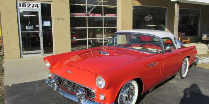 SOLD SOLD -1956 Ford Thunderbird