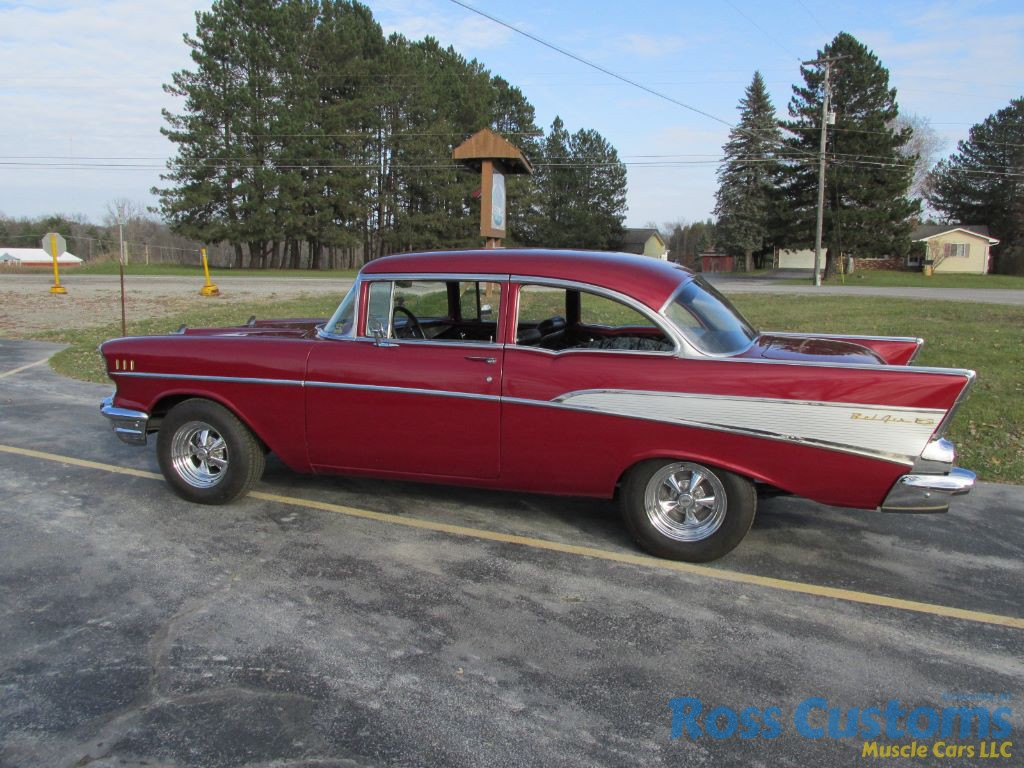 FOR SALE – 1957 Chevrolet Bel Air 2 door post – $32,900