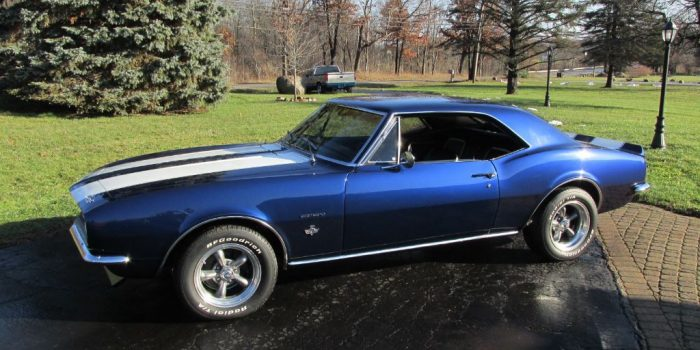 SOLD SOLD - 1967 Chevrolet Camaro 327