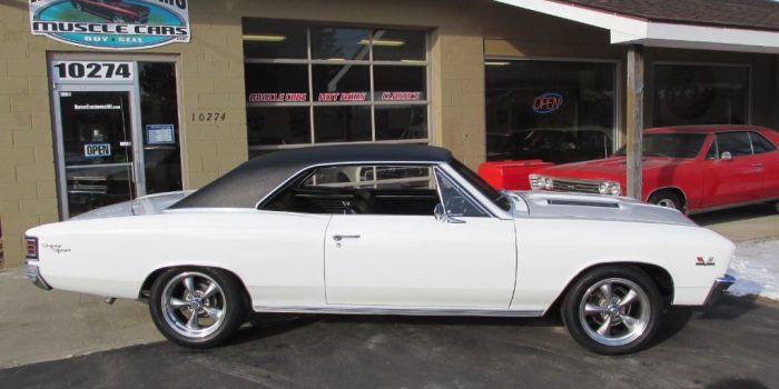 SOLD SOLD - 1967 Chevrolet Chevelle SS 396 - 4 speed