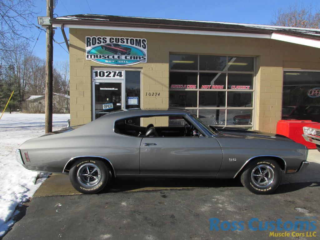 SOLD SOLD – 1970 Chevrolet Chevelle SS 396/540 « Ross Customs