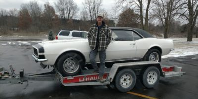 SOLD SOLD - 1967 Chevrolet Camaro RS 327 - 4 speed - #'s matching