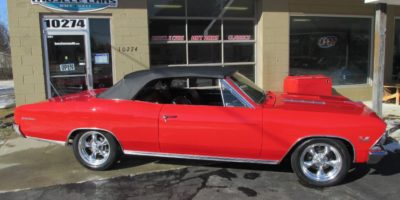 FOR SALE - 1966 Chevrolet Chevelle SS 396 Convertible - $44,900