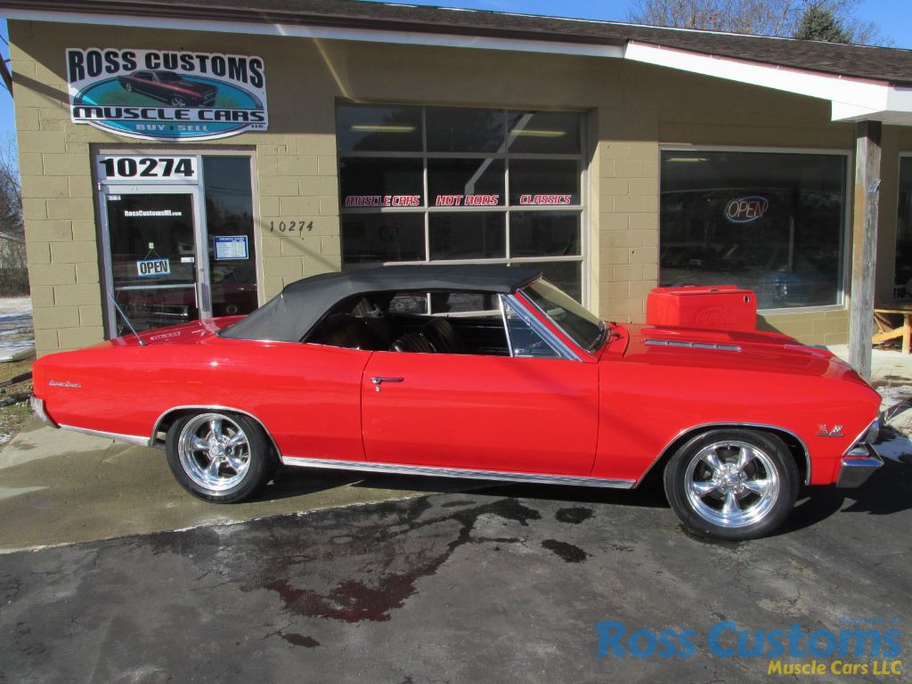 FOR SALE – 1966 Chevrolet Chevelle SS 396 Convertible – $44,900