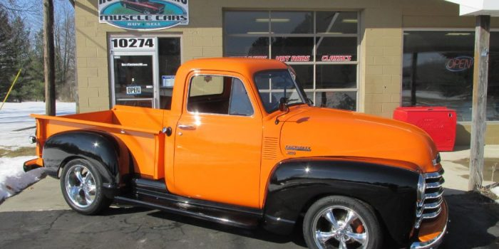 SOLD SOLD - 1951 Chevrolet 3100 Short Box Pickup