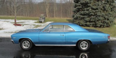 JUST ARRIVED - 1967 Chevrolet Chevelle SS 396 - #'s match