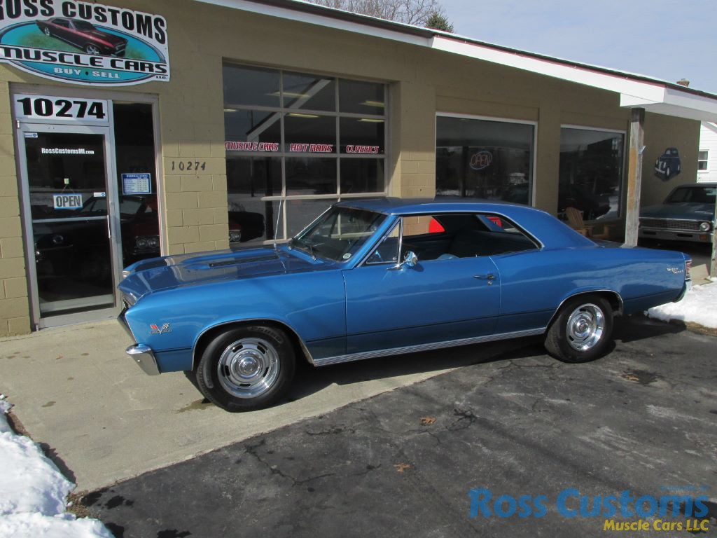 FOR SALE – 1967 Chevrolet Chevelle SS 396 #'s matching – 138