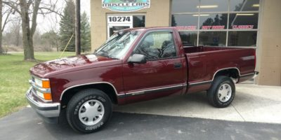 JUST ARRIVED - 1998 Chevy Shortbox Pickup