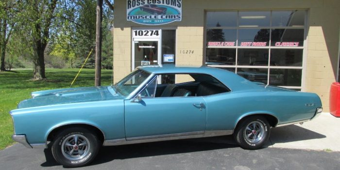 SOLD SOLD - 1967 Pontiac GTO - #'s matching