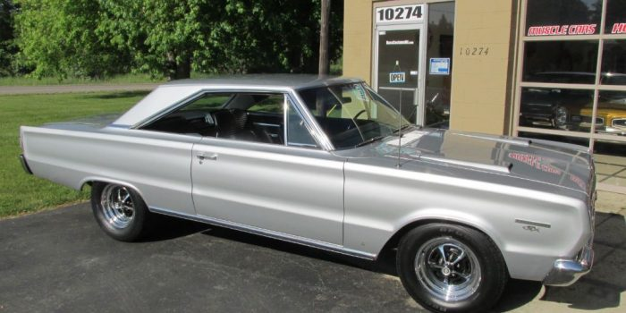 SOLD SOLD - 1967 Plymouth GTX 440 Belvedere