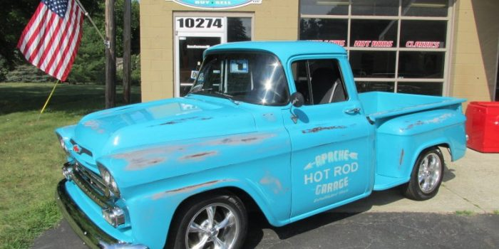 SOLD SOLD - 1959 Chevrolet 3100 Apache Resto-Mod - Fuel Injected 454