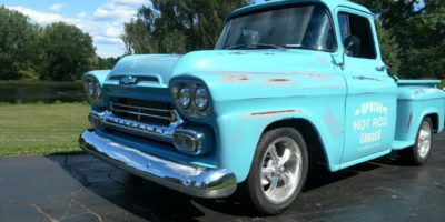 JUST ARRIVED - 1959 Chevrolet 3100 Apache
