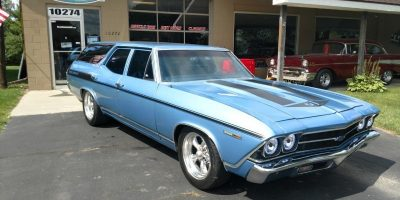 JUST ARRIVED - 1969 Chevrolet Chevelle Wagon - Super Charged