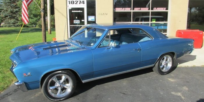 SOLD SOLD - 1967 Chevrolet Chevelle SS 396 #'s matching - 138 VIN