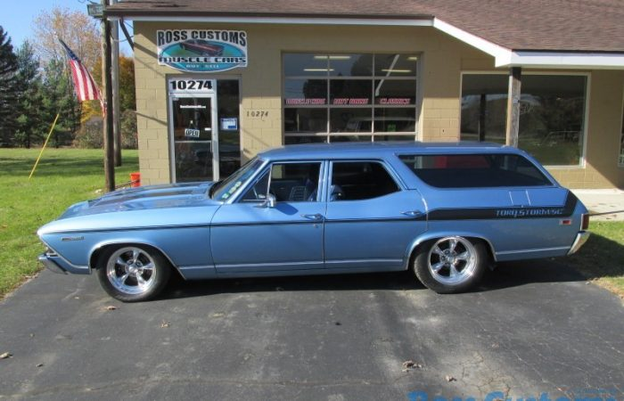 SOLD SOLD - 1969 Chevrolet Chevelle Concours Wagon