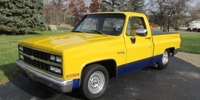 FOR SALE - 1982 Chevrolet Short Bed C10 Pro-Street Pickup - $10,900