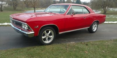 COMING SOON - 1966 Chevrolet Chevelle 396 - 4 speed