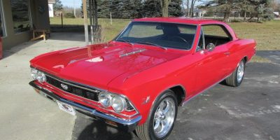 FOR SALE - 1966 Chevrolet Chevelle SS 396 - 4 speed - $43,900