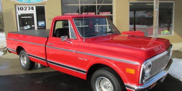 SOLD SOLD - 1972 Chevrolet C10 pickup