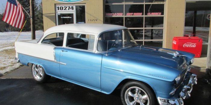 SOLD SOLD - 1955 Chevrolet 2 door post - 210