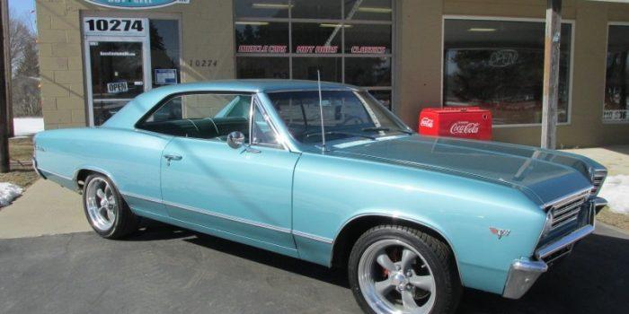 SOLD SOLD - 1967 Chevrolet Chevelle Malibu