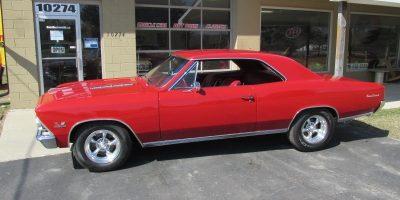 FOR SALE - 1966 Chevrolet Chevelle SS 396 - 4 speed - 138 VIN - $47,900
