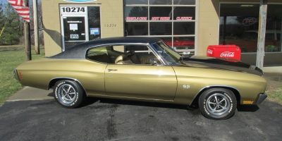 SOLD SOLD - 1970 Chevrolet Chevelle SS - #'s Match - 396