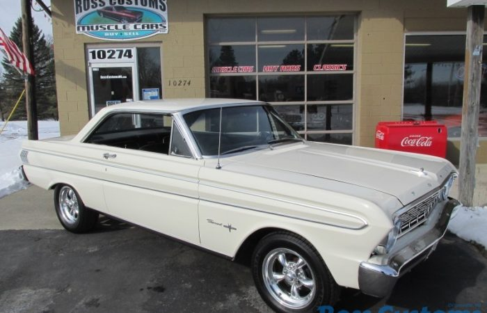 SOLD SOLD - 1964 Ford Falcon Sprint V8 - 4 speed