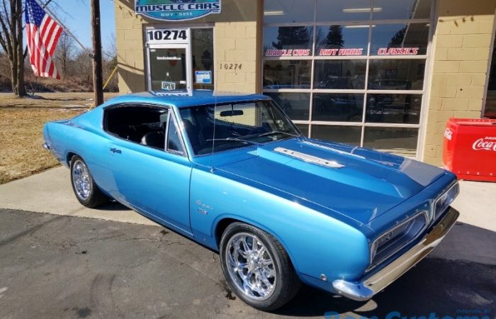 SOLD SOLD - 1968 Plymouth Barracuda Fastback Resto-Mod