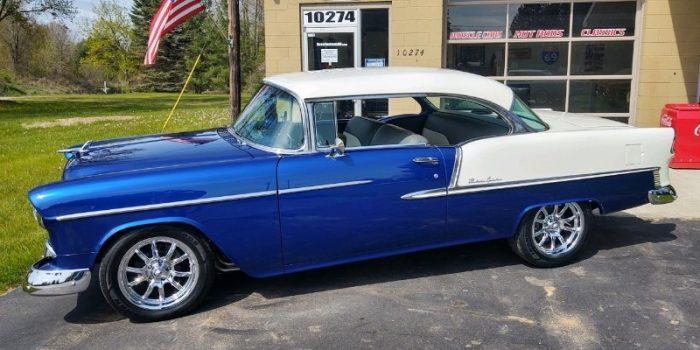 SOLD SOLD - 1955 Chevrolet Bel Air 2 door - Hardtop