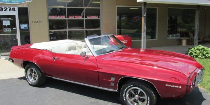 SOLD SOLD - 1969 Pontiac Firebird Convertible
