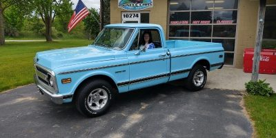 JUST ARRIVED - 1969 Chevrolet C10 - Shortbox