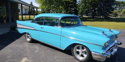 JUST ARRIVED - 1957 Chevrolet Bel Air - 2 door hardtop