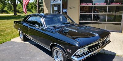 JUST ARRIVED - 1966 Chevrolet Chevelle SS 396 - 4 speed - 138 VIN