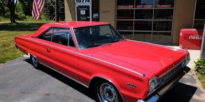 JUST ARRIVED - 1966 Plymouth Satellite 383