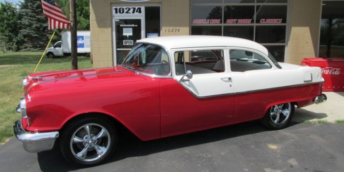 FOR SALE - 1955 Pontiac Chieftain - 2 door - 455 - $26,900