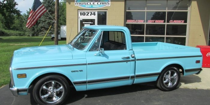 SOLD SOLD - 1969 Chevrolet CST-10 Shortbox Pickup