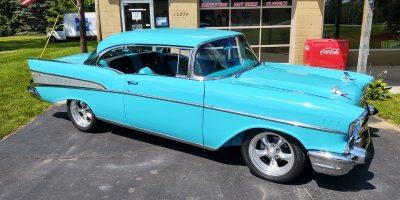 SOLD SOLD - 1957 Chevrolet Bel Air - 2 door hardtop