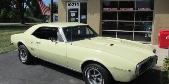 SOLD SOLD - 1967 Pontiac Firebird 400 - #'s matching - PHS Docs