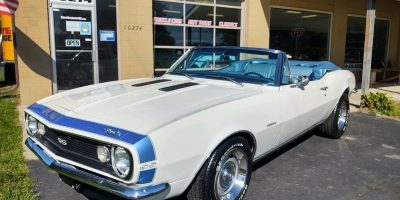 SOLD SOLD - 1967 Chevrolet Camaro SS Convertible