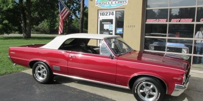 FOR SALE - 1964 Pontiac LeMans convertible 455 - $36,900