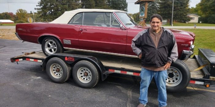 SOLD SOLD - 1964 Pontiac LeMans convertible 455